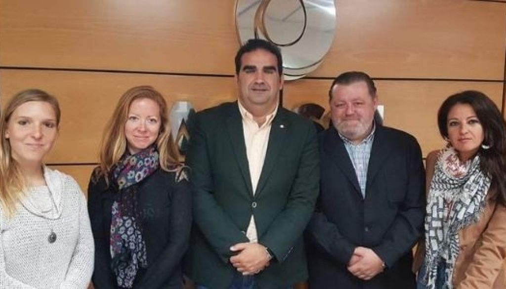 Meeting with ACOSOL, our local water board, Marbella