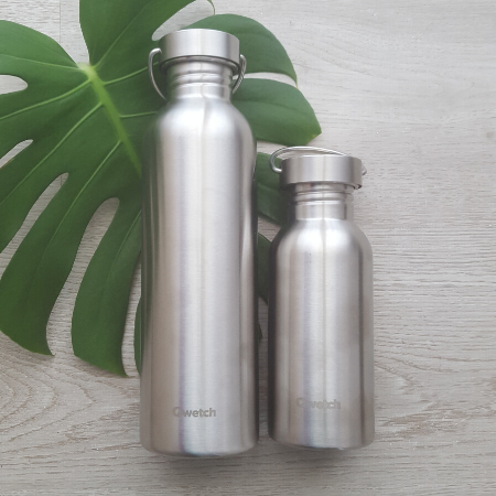 Stainless steel reusable bottles 500ml and 1000ml