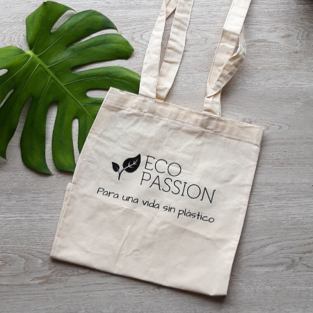 Cotton shopping bag with Eco Passion logo