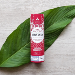 Desodorante natural, 60g, Pomelo Rosa