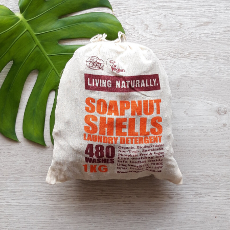 Soap nuts laundry detergent (480 washes)
