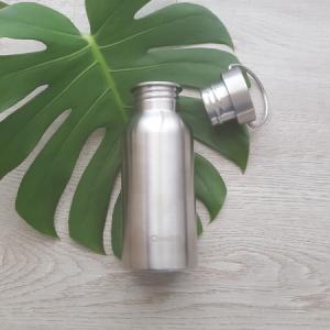 Stainless steel reusable bottle, 500ml