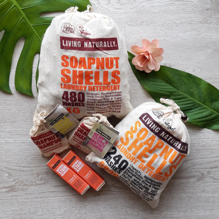 Living Naturally Soap Nuts Collection