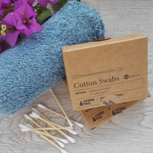 Bastoncillos de algodón orgánico