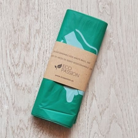 Biodegradable dog waste bags, 100