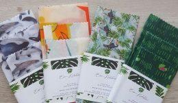 Productos Eco-Friendly: Envoltorios reutilizables de cera de soja