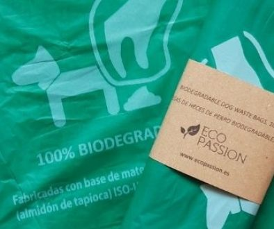 Productos Eco-Friendly: Bolsas de heces de perro biodegradables
