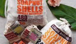 Productos eco-friendly: Nueces de lavado – Detergente para la ropa y quitamanchas natural
